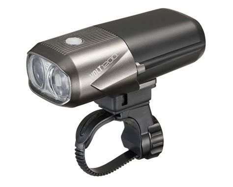 Mtb Lights by Cateye Volt 1200 Rechargeable Front Bike Light Merlin Cycles
