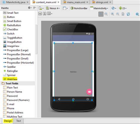 membuat aplikasi android login dengan android studio membuat aplikasi webview menggunakan android studio