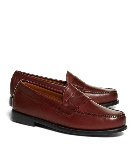 brothers loafers brothers classic loafers in purple for lyst