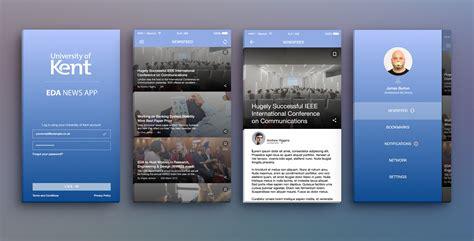 app design kent eda news reader app design by robbhoyy on deviantart