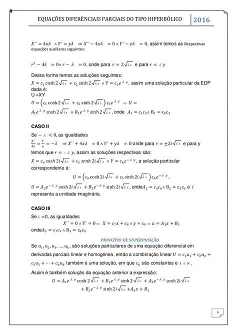 Trabalho de Equações Diferenciais Parciais