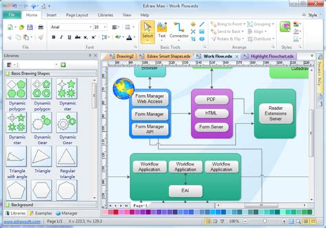 block diagram drawing software block diagram software view exles and templates