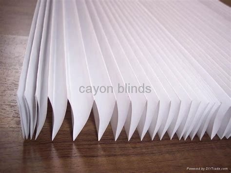 How To Make Paper Blinds - paper shade light filtering white pleated blind pb01