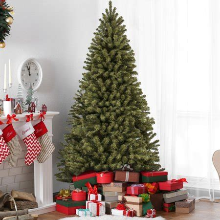 christmas trees from bunnings best choice products 7 5ft premium spruce hinged artificial tree w stand walmart