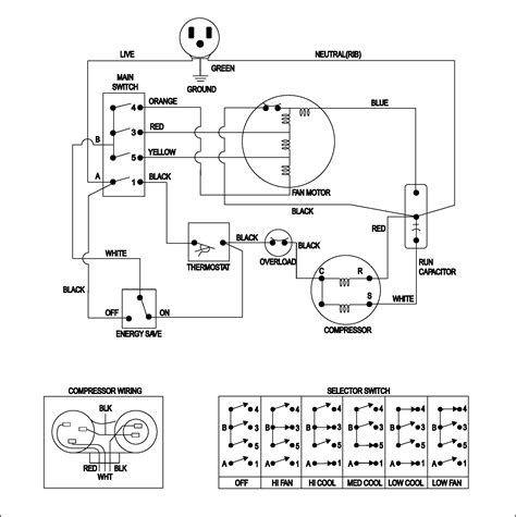 a c compressor wiring diagram