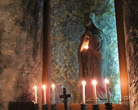 underground vault by yali shi old catholic shrine photograph by yali shi