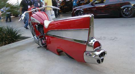 The 57 Bel Air Motorcycle