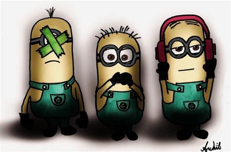 hear no evil speak no evil see no evil tattoo three wise minions see no evil speak no evil hear no