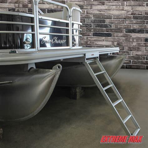 pontoon steps extreme max 3005 3430 undermount pontoon ladder 226 5 step