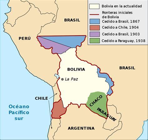 map of bolivia history of bolivia 1809 1920