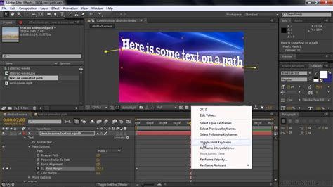 tutorial after effects path adobe after effects cc tutorial moving text along a path
