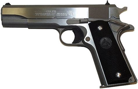 1991 colt government 45acp stainless chion firearms colt 1991a1 5 quot government stainless 45acp
