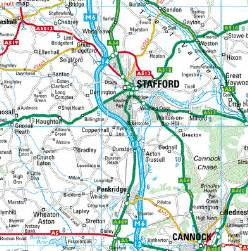 stafford map
