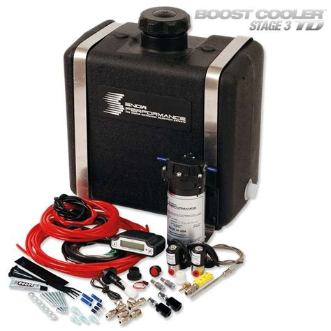 boost cooler stage  td mpg max water injection water injection snow performance boost cooler