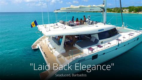 barbados catamaran charter seaduced luxury sailing charter barbados barbados