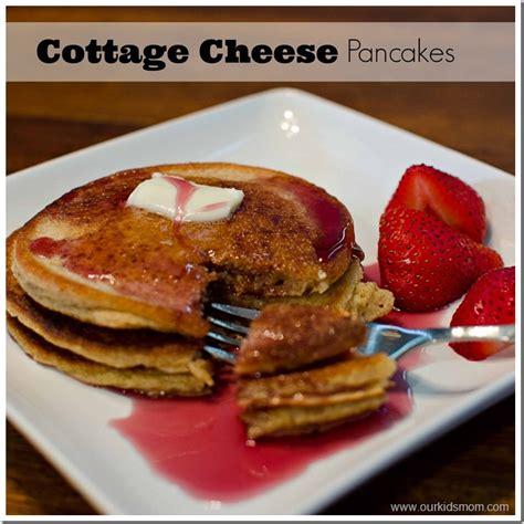 cottage cheese pancake recipe easy healthy and protein