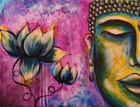 Best 25 Buddha Painting Ideas How To Paint Buddha Step By Step Acrylic Painting On