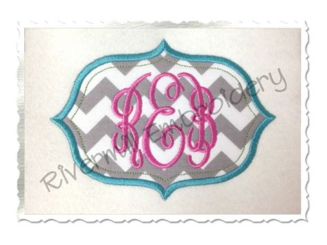 embroidery pattern name applique name or monogram frame machine embroidery design 2