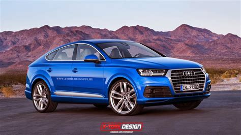 audi crossover 2014 audi q8 crossover coupe rendering is exciting