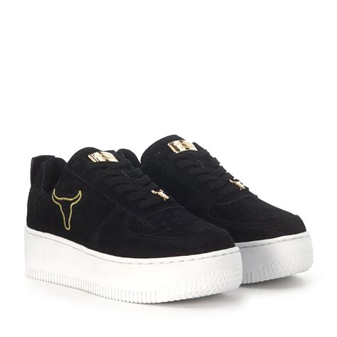 windsor smith windsor smith racerr black suede sneaker