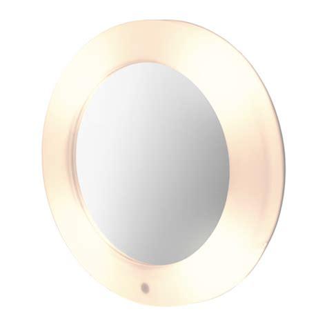 lilljorm cermin dengan lu bersepadu ikea