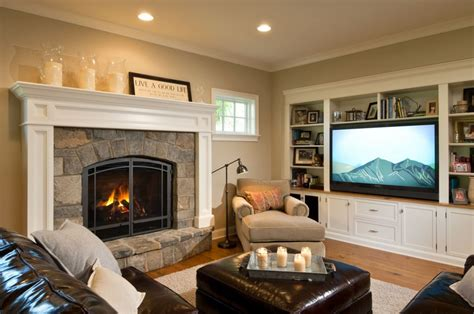 where to place tv in living room with fireplace is your tv room ready for prime time porch advice