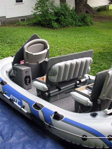 inflatable boat fishing tips 7 best images about intex excursion 5 modifications on