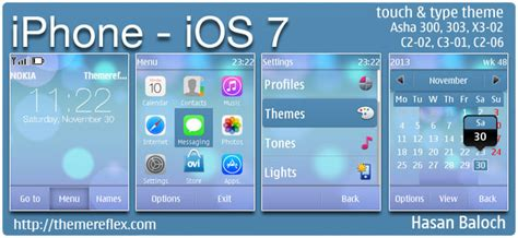 themes for nokia c2 03 touch and type free download iphone ios 7 theme for nokia asha 202 300 303 x3 02