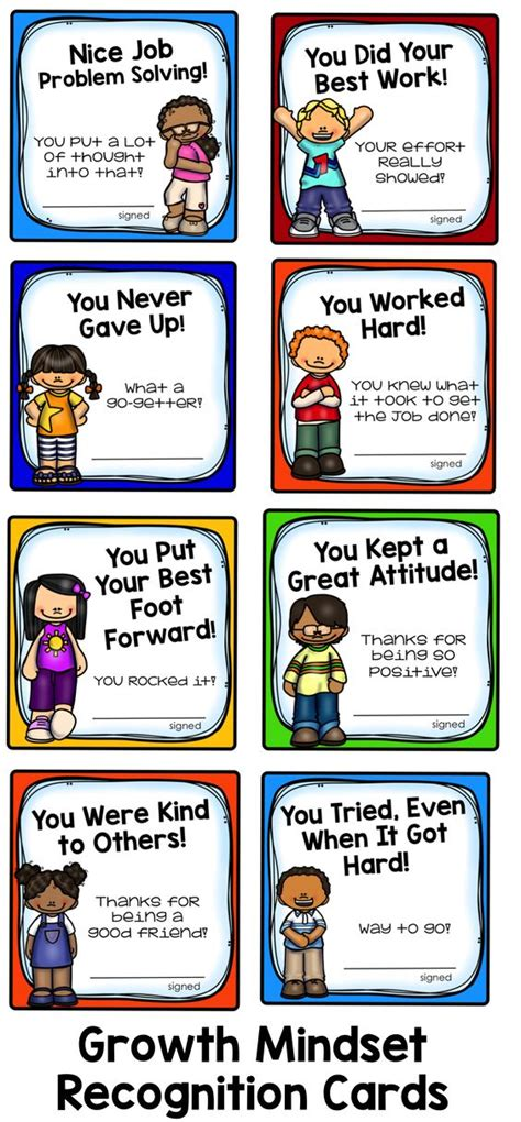 cards for students from positive things student and cards on