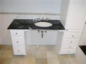 Vanity Bathroom Sink Old World Craftsmen Bathrooms
