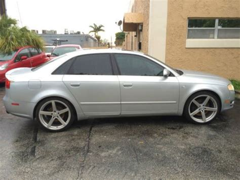 rims for audi a4 quattro sell used 2006 audi a4 3 2 quattro leather wood 19