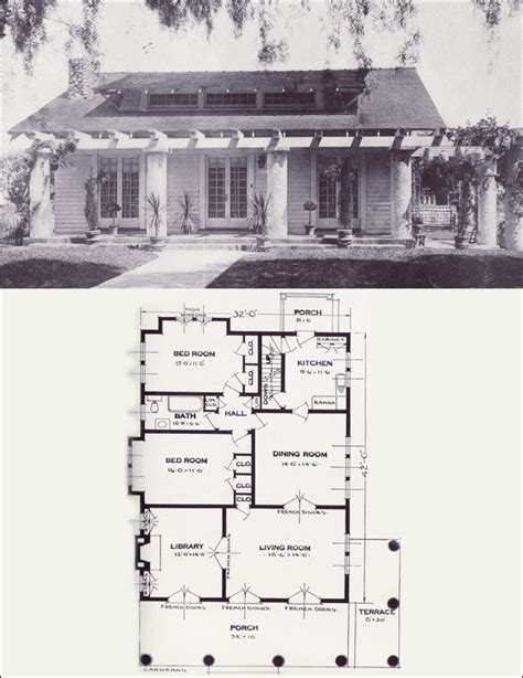 craftsman style house floor plans 1920s craftsman bungalow house plans so replica houses