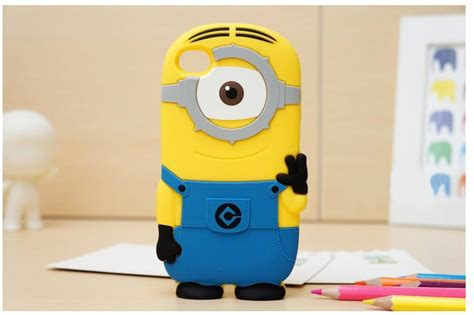 minion iphone for iphone 4 and iphone 5 kawaii