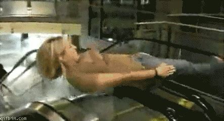 Sliding Down A Banister Escalator Spin Know Your Meme