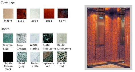 Interior Materials And Finishes by Lift Interior Finishes Ce Lifts