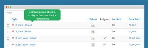 tutorial joomla t3 override bootstrap css styles phpsourcecode net