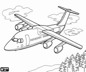 juegos de aviones para colorear imprimir y pintar