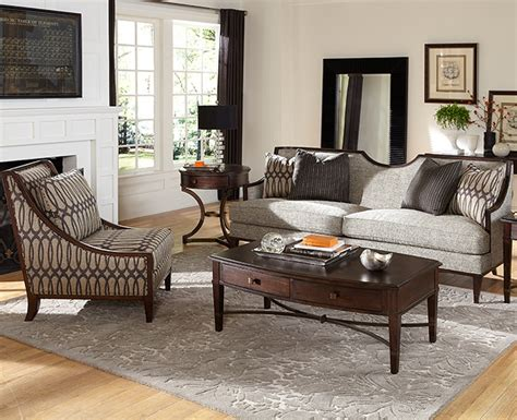 Living Room Furniture With Wood Trim A R T Intrigue Wood Trim Modern Sofa Features A