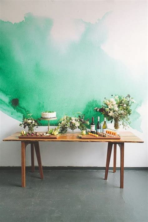 painting wall painting your walls with watercolors 25 ideas