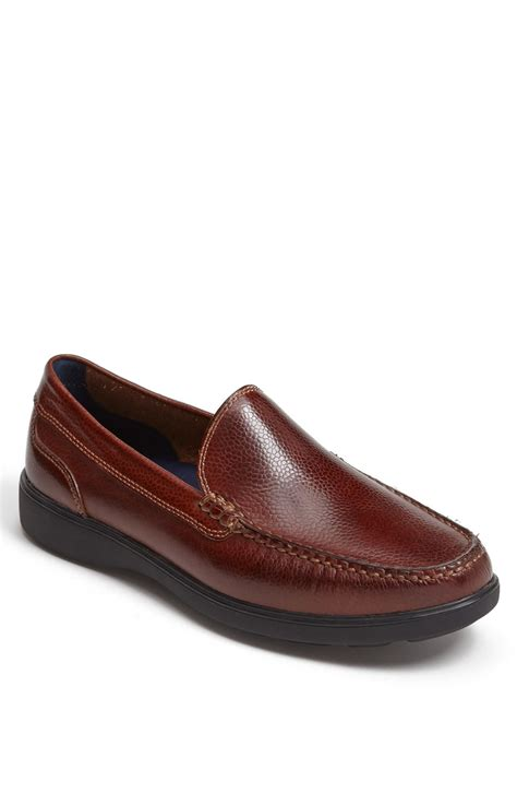 cole haan mens loafers cole haan sutton venetian loafer in brown for