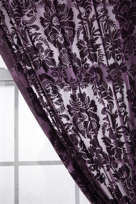 Black White And Purple Curtains 127 Best Purple Living Room Ideas Images On