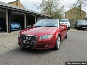 used 2006 audi a4 2 0 turbo fsi sport dsg convertible for
