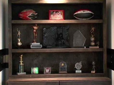 trophy cabinets for home how to build a trophy how tos diy