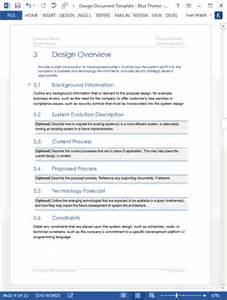 word documentation template design document ms word template