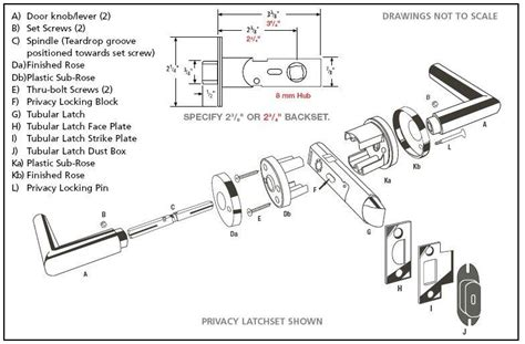 mortise lock diagram images