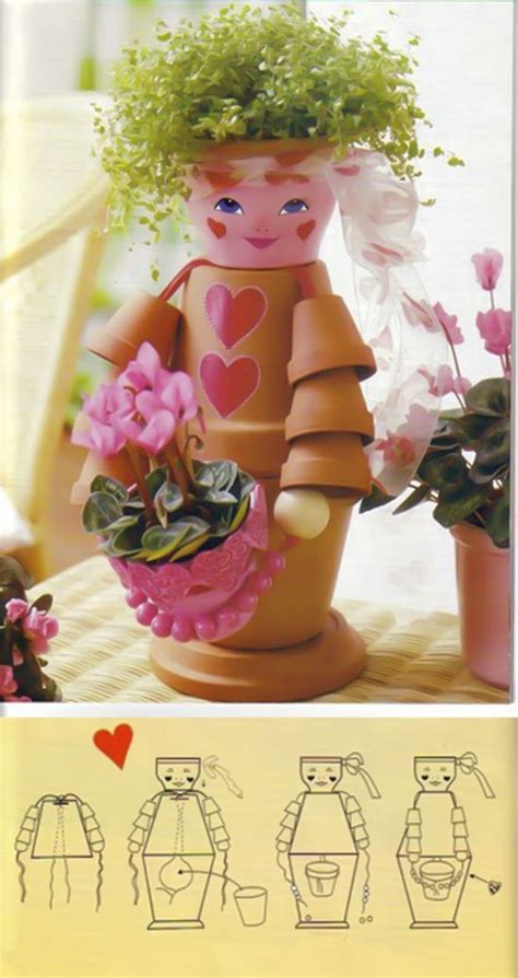 flower pot crafts best 25 clay flower pots ideas on decorated