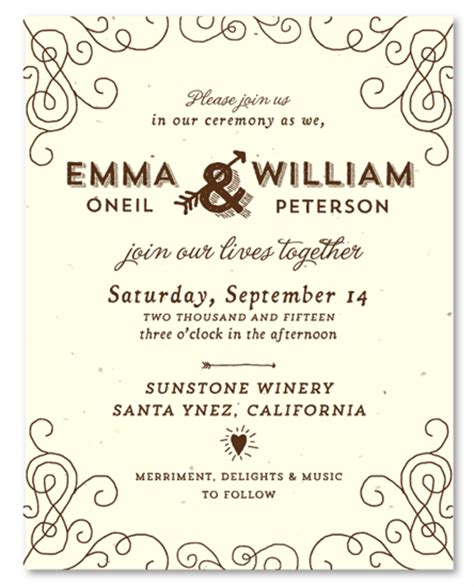 Wedding Invitation Card Wording Font by Wine Country Wedding Invitations By Foreverfiances