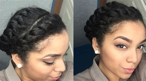 Easy Protective Hairstyles by Easy Protective Style Flat Twists Hair