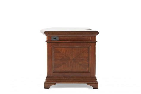 hawthorn office furniture aspenhome hawthorne 66 quot curved executive desk office barn