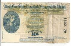 Irish Free State Hospitals Sweepstake Ticket - 1000 images about vintage lottery tickets on pinterest savings bonds premium bond